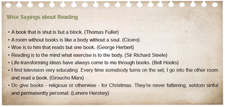importance of reading books in students life